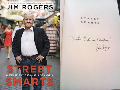 Jim rogers investor profile, his book street smarts