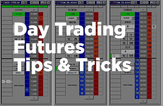 day trading futures for a living. Picture of TT trader