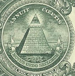 pyramid on the one dollar bill