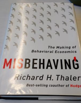 misbehaving book by richard thaler the making of behavioural economics