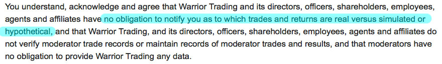 This disclaimer was taken from a well known trading website.