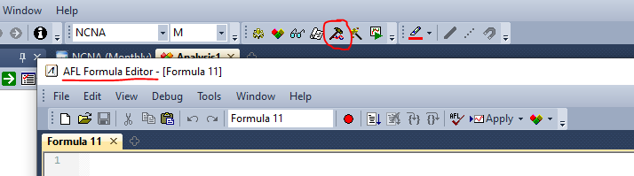 afl formula editor