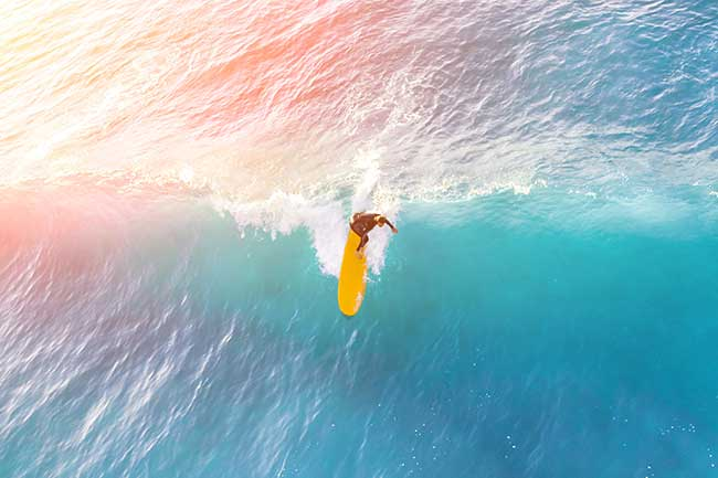 surfing a big wave trend following strategy