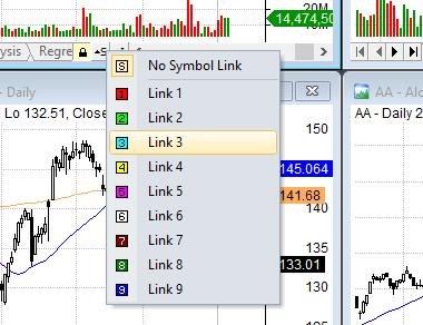 link charts amibroker